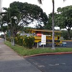 View from the Street driving North on South Kihei Road