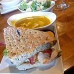 Soup, salad and sandwich $16 lunch special