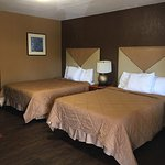 Newly remodeled double bed rooms