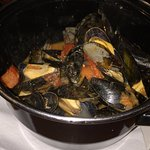Yummy mussels!