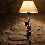 Una lampada in dettaglio
