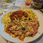 Escalope à la parmigiana