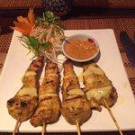 Chicken Satay starter