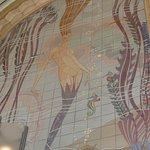 Mermaid Mosaic above box office