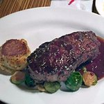 My colleagues New York Strip special was merely ordinary; not a lot of flavor, he said