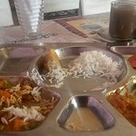Thali for less than USD 3