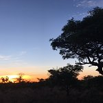 Sundowners in the veld