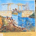Zo zag van Gogh de brug.