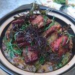 Slow cooked Lamb Rib