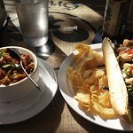 Gumbo and Oyster Po Boy