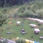 Garden and Open Air Dinner Area