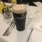 Lovely pint of Guinness I had
