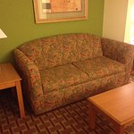 Hotel couch