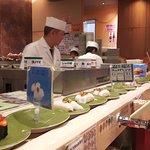 Sushi men!