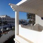 Le balcon ensoleillé