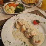 Fresh Sole and Smoked Salmon Paupiettes