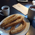 Incredible authentic Mexican food ... churros are some of the best I ever had.  Get it with the