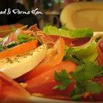 Caprese Salad & Parma Ham