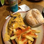 1/4 chicken meal with Peri-Peri chips