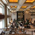Dramatic and elegant lobby