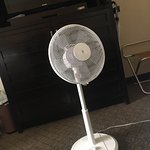 No cold air condition, just a fan