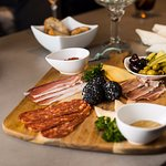 Charcuterie Board at Riverside Lounge in the Park Town Hotel