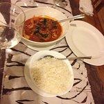 Seafood (prawn) masala...Fantastic dish!