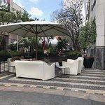 Tashas Outdoor seating