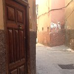 Outside of Riad