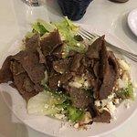 An medium Athenian salad