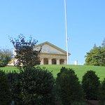 Arlington House from the JFK Grave-Site