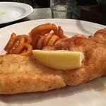 We ordered fish and chips,soup, and the catch of the day! All very good and very fresh. Our serv