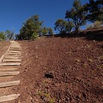 El Calderon Cinder Cone Path Up, Up, UP