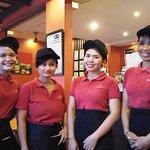 Fabulous warm & happy staff