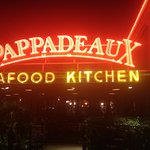 Pappadeaux Dallas Marquis at night