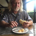 The most delicious scones, Fish Tales Cafe, 3336 Island Hwy W, Qualicum Beach, British Columbia