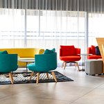 Bright and colofrful lobby