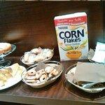 mini buffet senza glutine separato dal resto