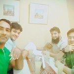 From Left Ejaz Ahmed, Tahir Mir, Aftab (me) and Fawad