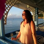 Pip, first at the Warri Pier bar ...