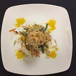 Chilean sea bass made by chef Jose Martinez this is great one of the favorites house dishes and