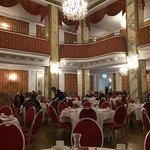 Wunderschöner Ballsaal (bei Vollauslastung als Frühstücksraum)