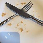"""Leider war trotz entsprechender Zeichen mehrmals der """"Tisch"""" weg, weil abgeräumt!"""