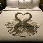 Beautiful art from Towel