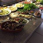 Buffet de saladas é excelente!