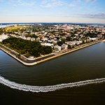 Charleston Harbor - Front Row Views!