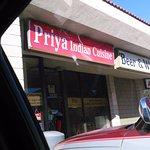 front view of priya restaurant