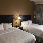 Big beds. Super comfortable. Quiet.
