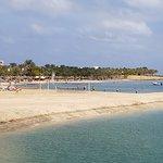 Bucht zum Baden, Schnorcheln und Tauchen