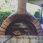 Pizza oven used for night functions